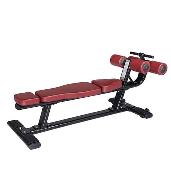 Banca abdomen dreapta profesionala, de ultima generatie, special conceputa pentru utilizarea intensiva in salile de fitness si de catre profesionisti.